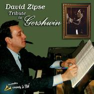 "David Zipse ""Tribute to Gershwin"" CD, includes ""Rhapsody In Blue"""