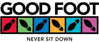 Good Foot, Never Sit Down!