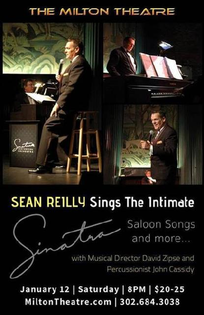 Sean Reilly sings Sinatra at the Milton Theatre